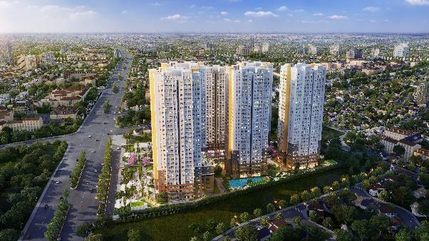 Phối cảnh dự án Bien Hoa Universe Complex do Công ty Cổ phần Hưng Thịnh Land phát triển